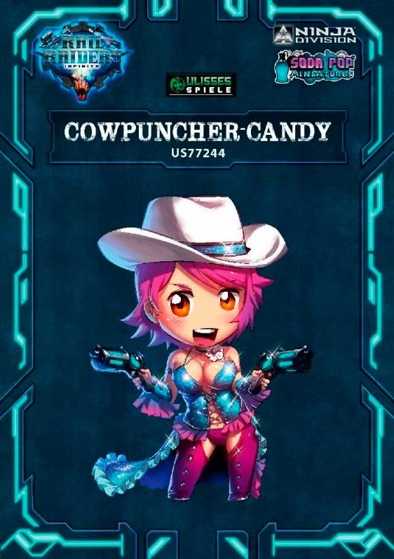 Candy Rail Raiders Infinite Cowpuncher Candy Utvidelse til Rail Raiders Infinite