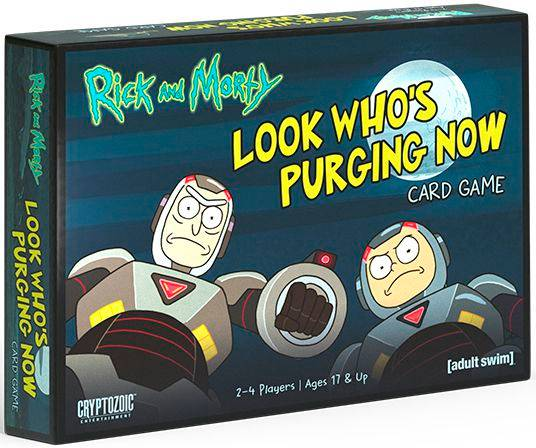 Rick & Morty Look Whos Purging Now The Card Game Kortspill