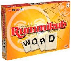 Rummikub Word Brettspill Norsk utgave