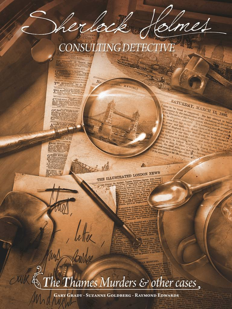 Sherlock Holmes Thames Murders/Other Cas Sherlock Holmes Consulting Detective