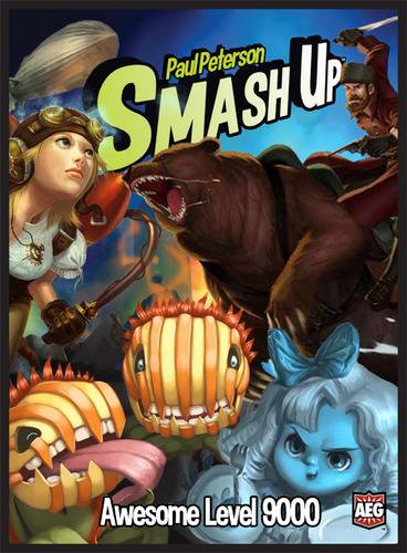 Smash Up Awesome Level 9000 Brettspill Standalone utvidelse til Smash Up