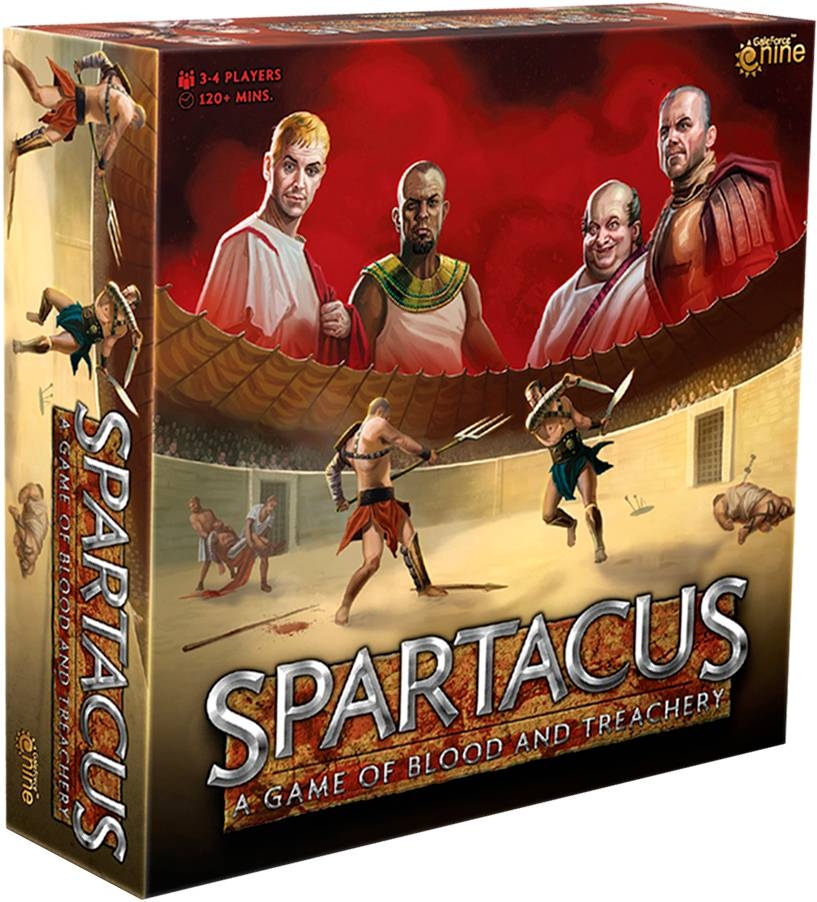 Spartacus Blood & Treachery Brettspill 2020 Edition