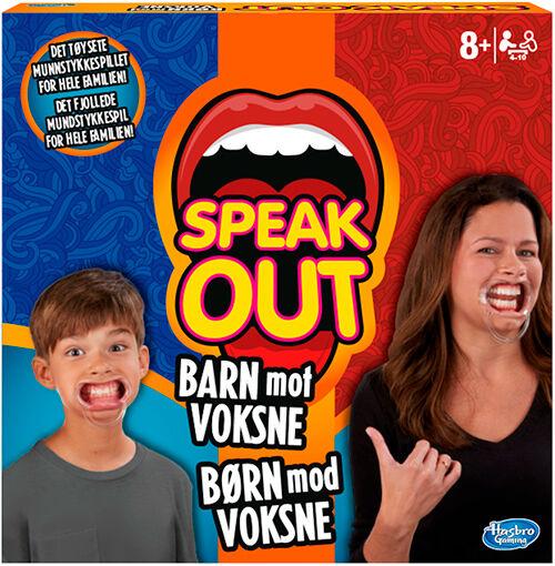Speak Out Barn mot Voksne Brettspill Norsk utgave av Kids vs Parents