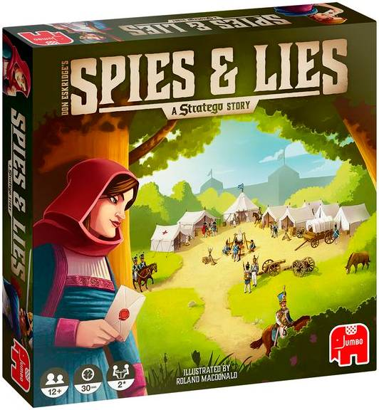 Spies & Lies A Stratego Story Brettspill