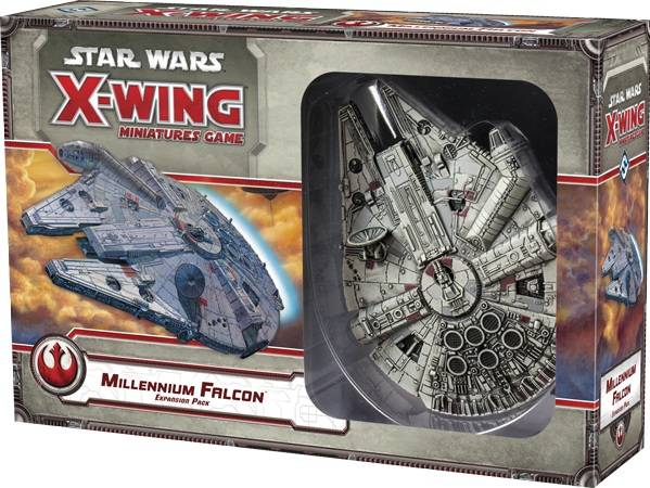 Falcon Star Wars X-Wing Millenium Falcon Expansion/Tilleggspakke