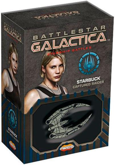 Battlestar Galactica Starbuck Raider Starship Battles Utvidelse - Captured