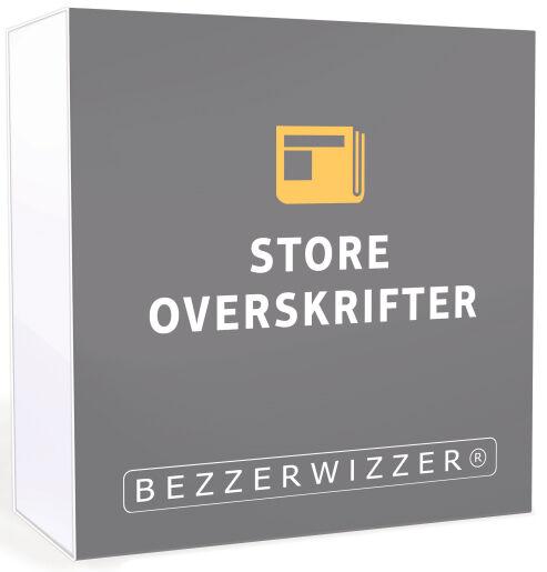 Bezzerwizzer Store Overskrifter Bezzerwizzer Bricks