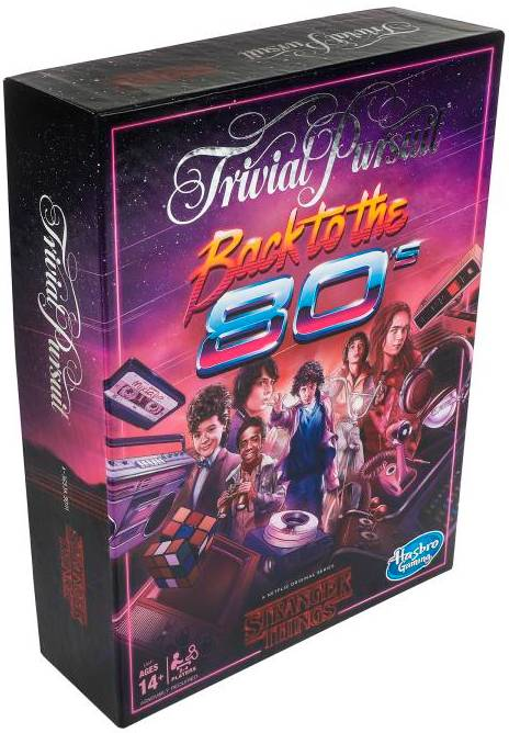 Trivial Pursuit Back to the 80 Kortspill Stranger Things Edition