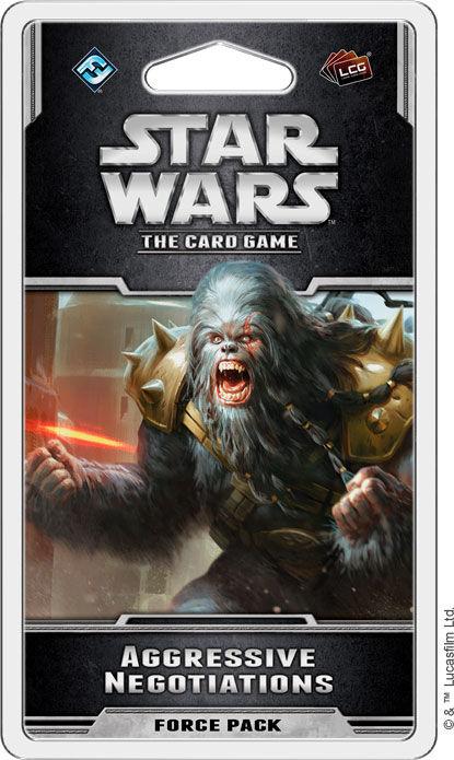 Star Wars TCG Aggressive Negotiations Utvidelse til Star Wars Card Game