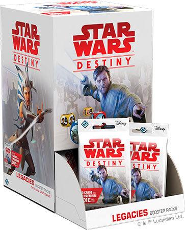 Star Wars Destiny Legacies Display 36 boostere