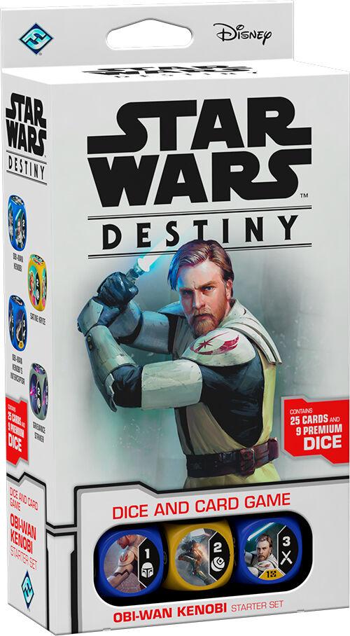 Star Wars Destiny Starter Set Obi-Wan Obi Wan Kenobi