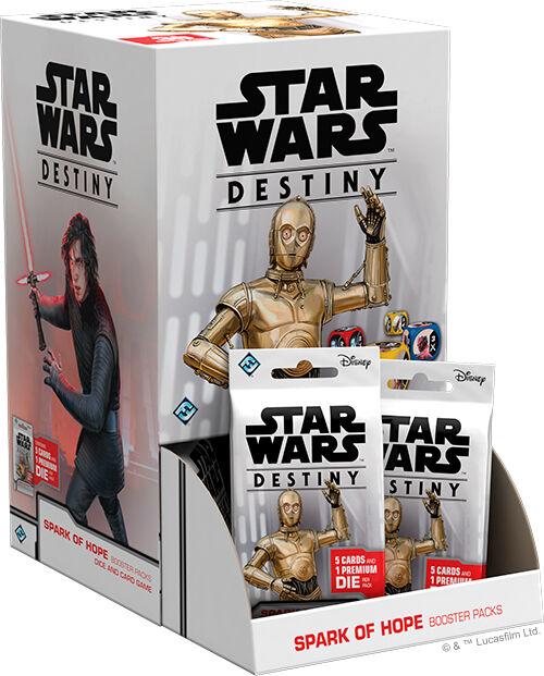 Star Wars Destiny Spark of Hope Display 36 boostere