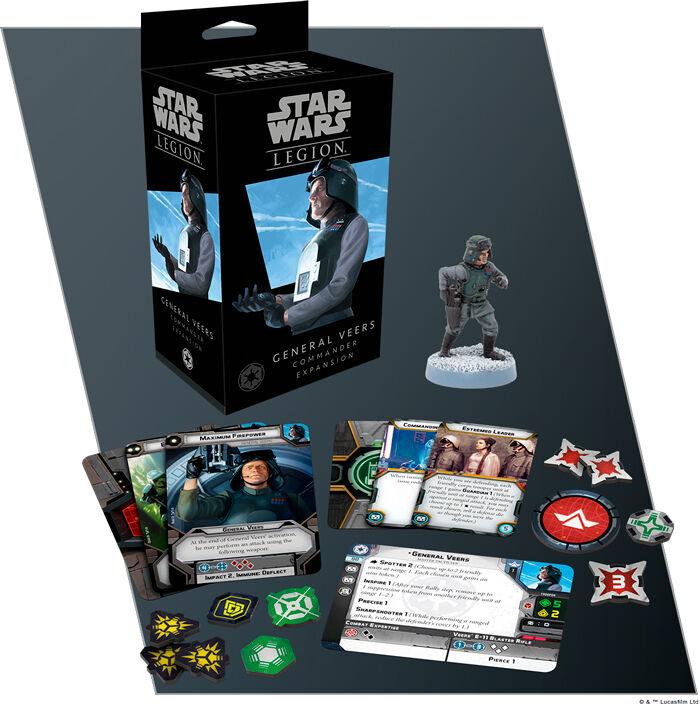 Star Wars Legion General Veers Expansion Utvidelse til Star Wars Legion