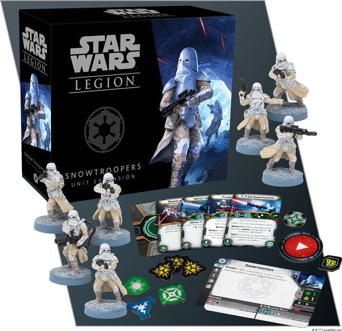 Star Wars Legion Snowtroopers Expansion Utvidelse til Star Wars Legion