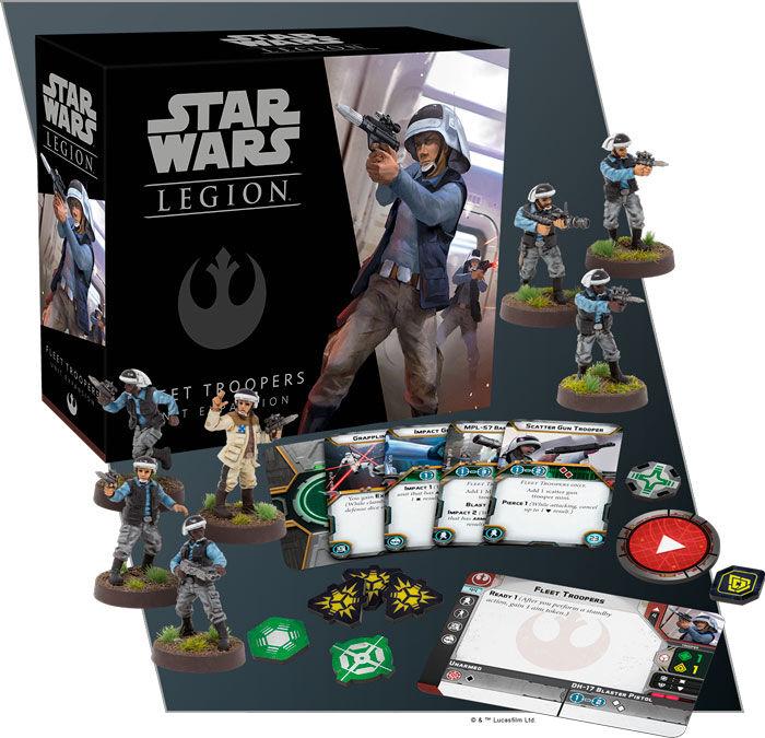 Star Wars Legion Fleet Troopers Exp Utvidelse til Star Wars Legion