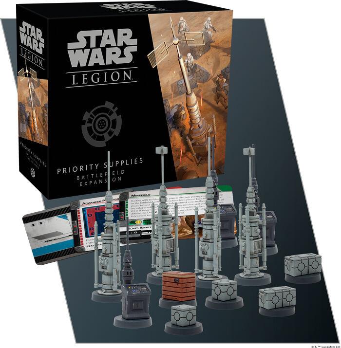 Star Wars Legion Priority Supplies Exp Utvidelse til Star Wars Legion