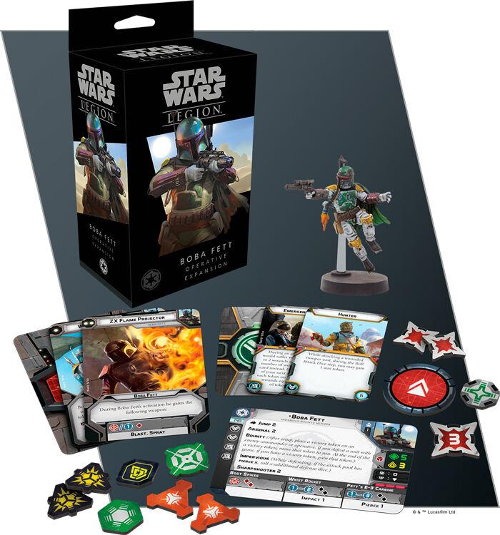 Star Wars Legion Boba Fett Operative Exp Utvidelse til Star Wars Legion
