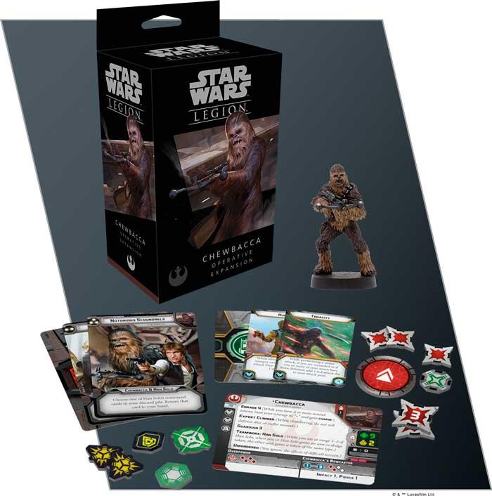 Star Wars Legion Chewbacca Operative Exp Utvidelse til Star Wars Legion