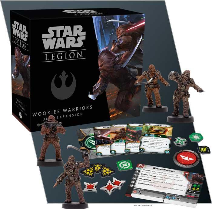 Star Wars Legion Wookie Warriors Exp Utvidelse til Star Wars Legion