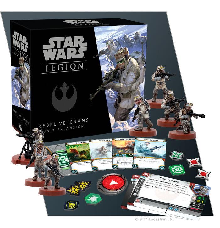 Star Wars Legion Rebel Veterans Unit Exp Utvidelse til Star Wars Legion