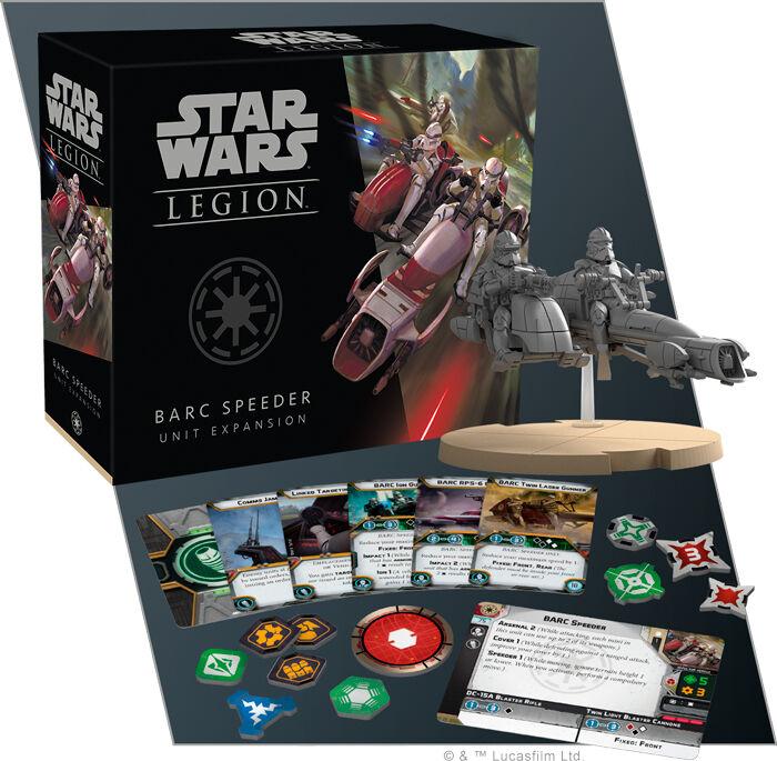 Star Wars Legion BARC Speeder Expansion Utvidelse til Star Wars Legion