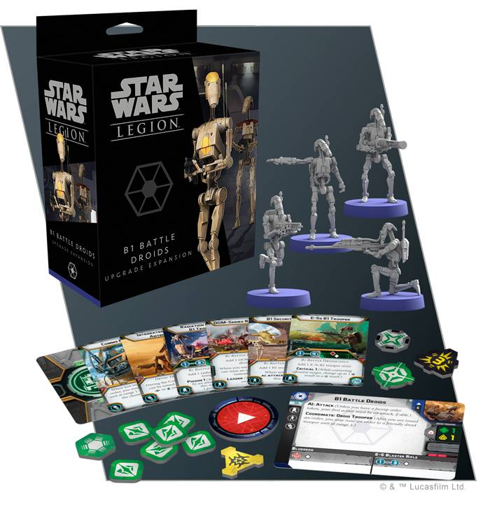 Star Wars Legion B1 Battle Droid Upgrade Utvidelse til Star Wars Legion
