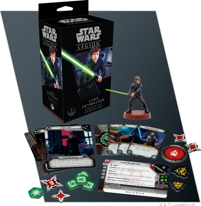 Star Wars Legion Luke Skywalker Exp Utvidelse til Star Wars Legion
