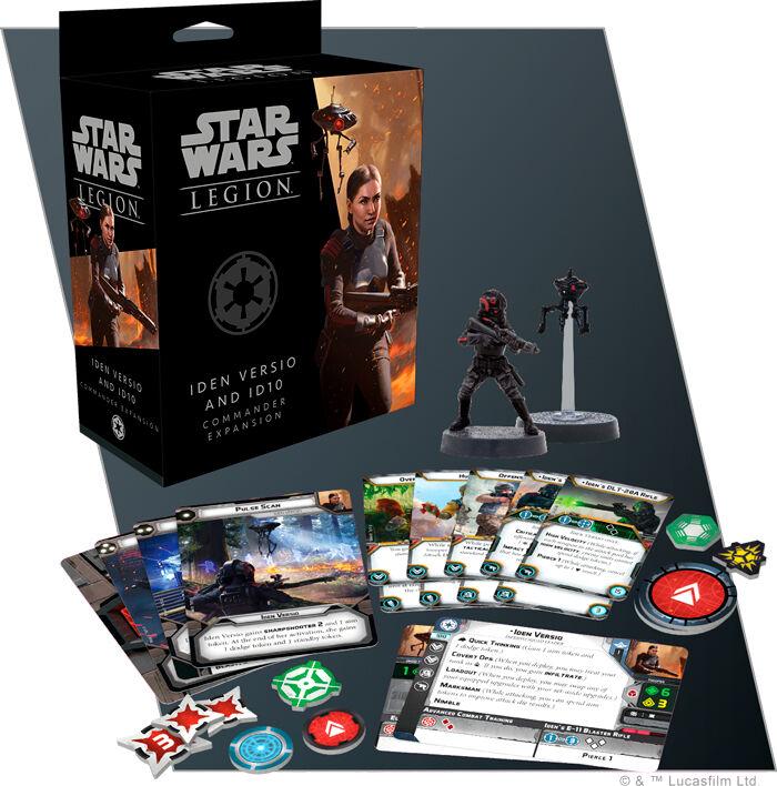 Star Wars Legion Iden Versio/ID10 Exp Utvidelse til Star Wars Legion