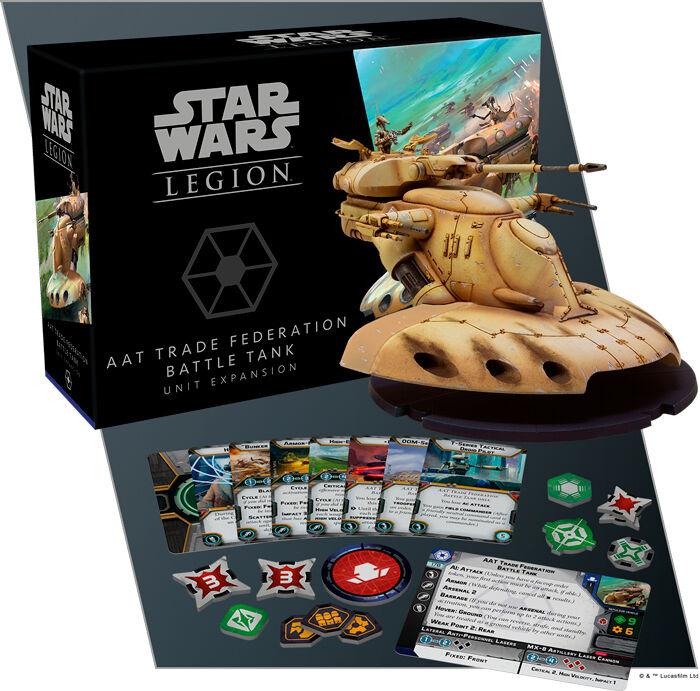 Star Wars Legion AAT Trade Federation Utvidelse til Star Wars Legion