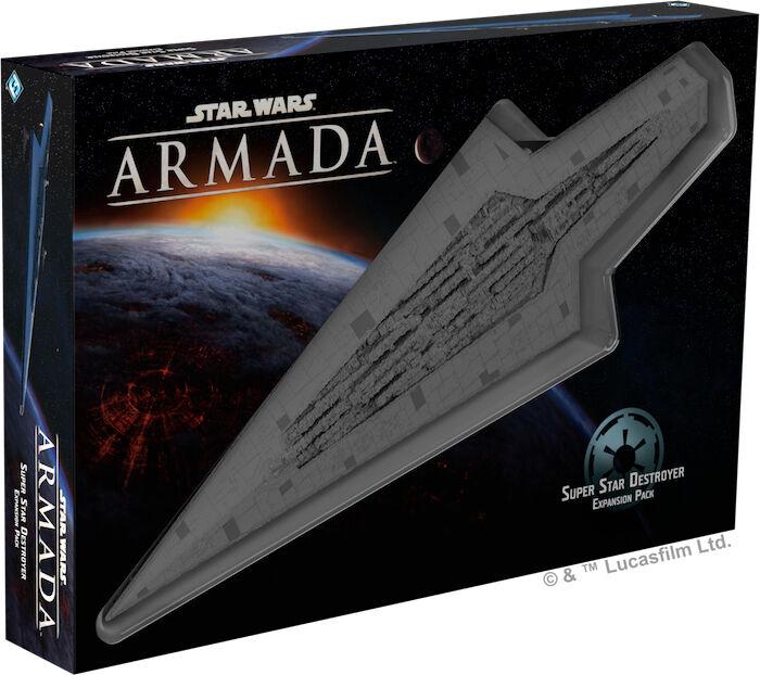 Star Wars Armada Super Star Destroyer Utvidelse til Star Wars Armada