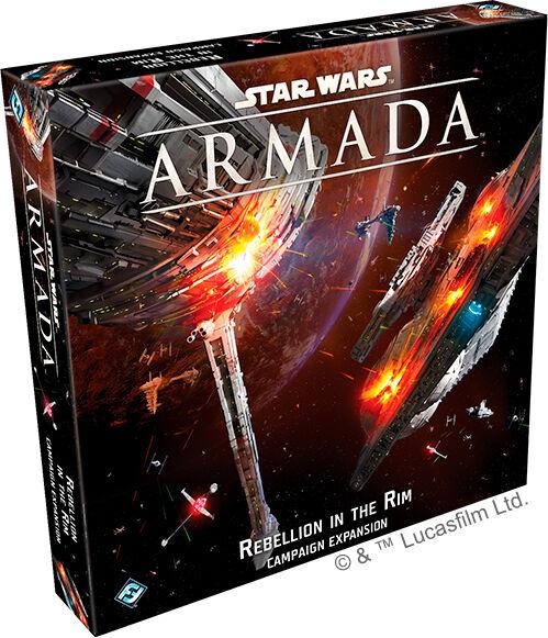 Star Wars Armada Rebellion in the Rim Utvidelse til Star Wars Armada
