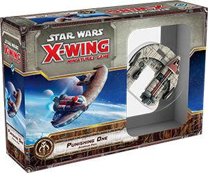 Star Wars X-Wing Punisher One Expansion Utvidelse til Star Wars Miniatyrspill