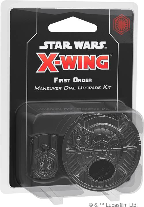 Star Wars X-Wing First Order Dial Upgrad First Order Maneuver Dial Upgrade Kit