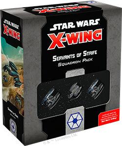 Star Wars X-Wing Servants of Strife Exp Utvidelse til Star Wars X-Wing 2nd Ed