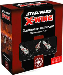 Star Wars X-Wing Guardians of Republic Utvidelse til Star Wars X-Wing 2nd Ed