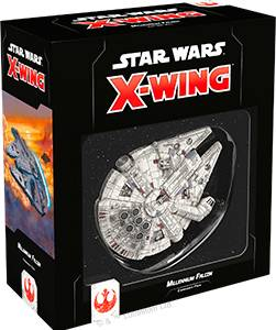 Falcon Star Wars X-Wing Millennium Falcon 2ndEd Utvidelse til Star Wars X-Wing 2nd Ed