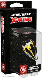 Star Wars X-Wing Naboo Royal N-1 Starfig Utvidelse til Star Wars X-Wing 2nd Ed