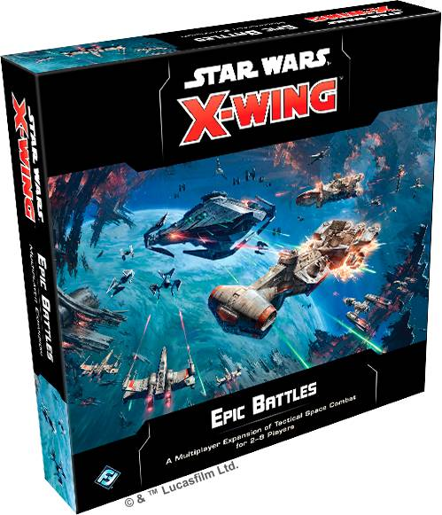 Star Wars X-Wing Epic Battles Expansion Utvidelse til Star Wars X-Wing 2nd Ed