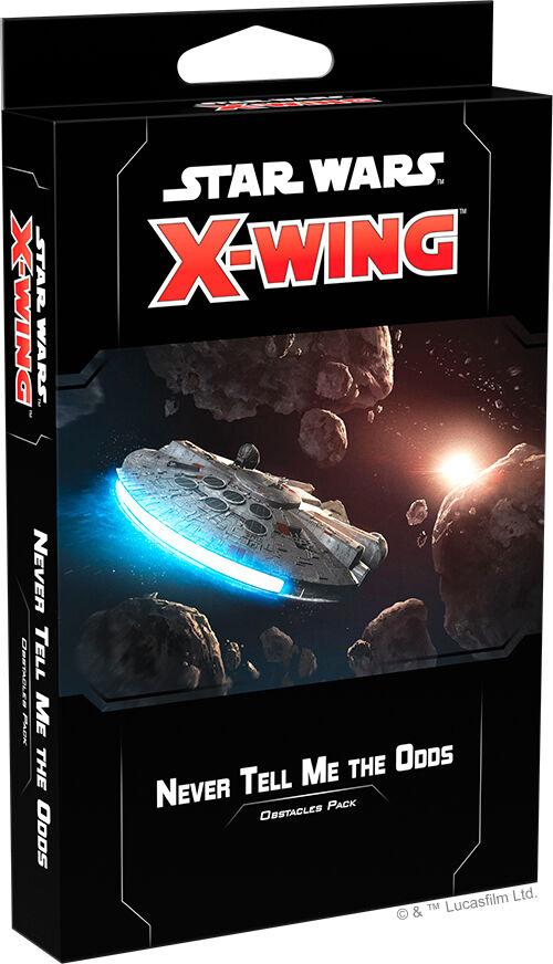 Star Wars X-Wing Never Tell Me the Odds Utvidelse til Star Wars X-Wing 2nd Ed