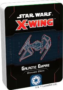 Star Wars X-Wing Galactic Empire Deck Damage Deck til X-Wing Second Edition