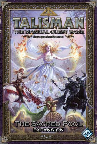 Talisman The Sacred Pool Expansion Tilleggspakke til Talisman 4th Edition