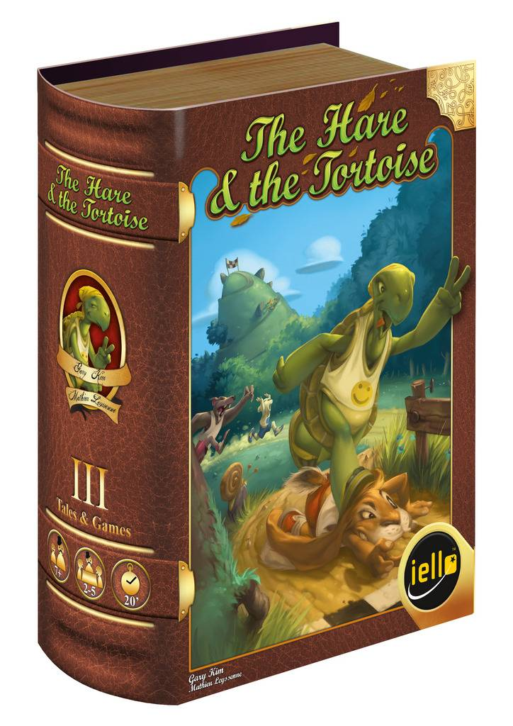 The Hare and the Tortoise Brettspill Et spill i Tales & Games serien