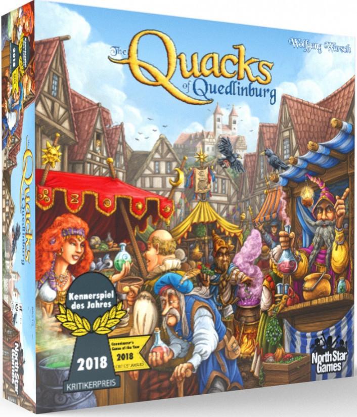 Quacks of Quedlinburg Brettspill Kennerspiel Des Jahres 2018 Vinner