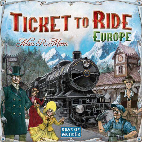 Ticket to Ride Europe Brettspill Europa - Scandinavisk utgave