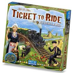 Ticket to Ride Map Coll 4 Nederland Map Collection 4 - Utvidelse