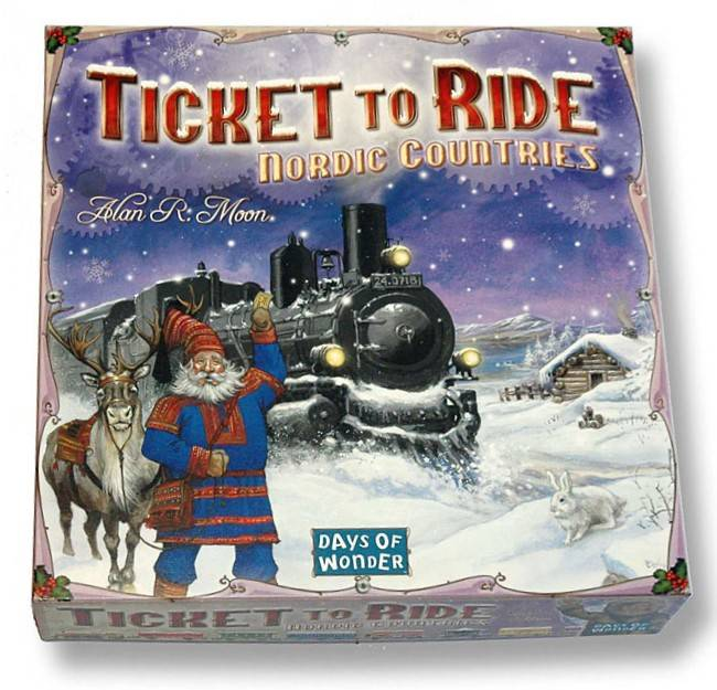 Ticket to Ride Nordic Countries Brettspill