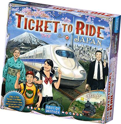 Ticket To Ride Japan/Italy Map Coll. 7 Map Collection 7 - Utvidelse/Expansion