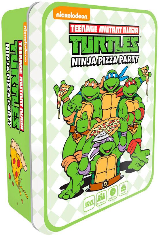 Mutant TMNT Ninja Pizza Party Brettspill Teenage Mutant Ninja Turtles