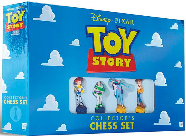 Toy Story Collectors Chess Set