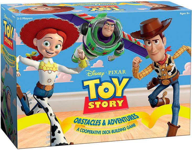Toy Story Deckbuilding Game Brettspill Obstacles & Adventures